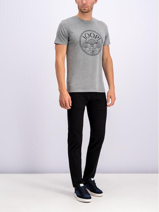 JOOP! Jeans Joop! Jeans T-Shirt 30017375 Γκρι Modern Fit
