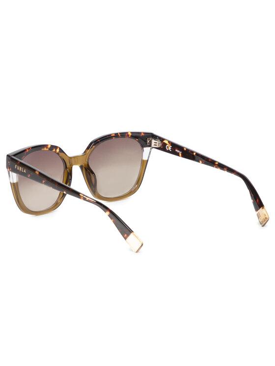 Furla Furla Sluneční brýle Sunglasses SFU401 401FFS5-RE0000-HLC00-4-401-20-CN-P Hnědá