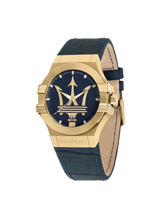Maserati Laikrodis Potenza R8851108035 Tamsiai mėlyna