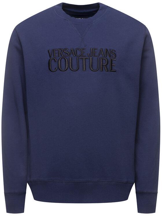Versace Jeans Couture Versace Jeans Couture Felpa B7GVA7TG Blu scuro Slim Fit