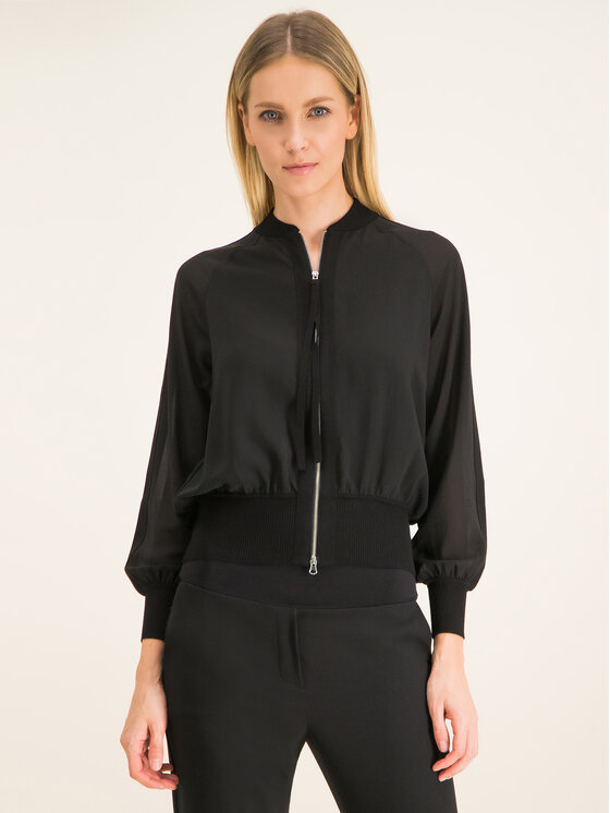 Marella Marella Bluză Lipsia 31911001 Negru Regular Fit