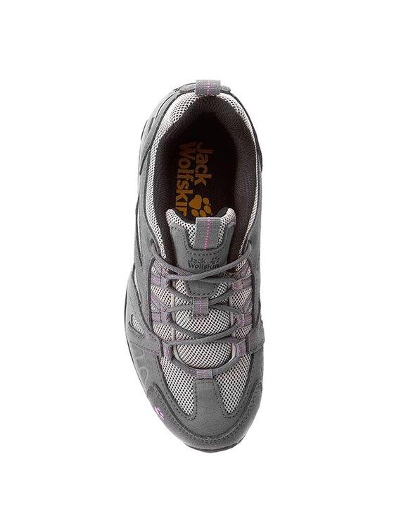 Jack Wolfskin Jack Wolfskin Trekingová obuv Vojo Hike Low W 4014081-2079035 Sivá