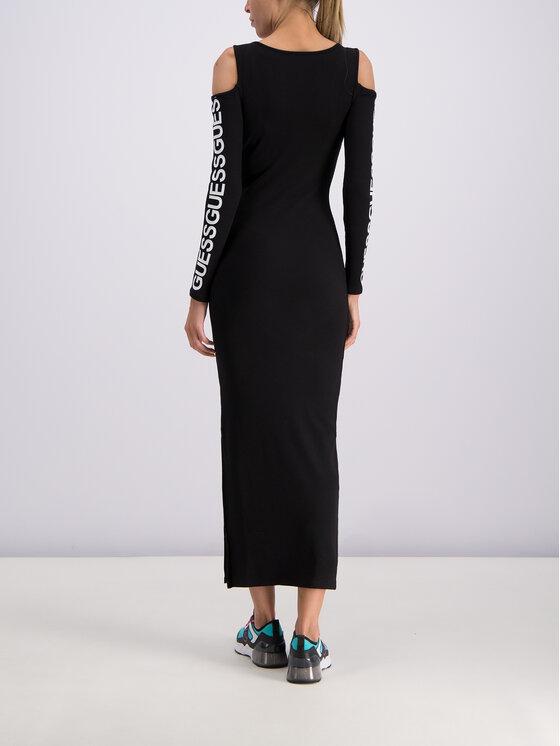 Guess Guess Kleid für den Alltag W93K72 K8RT0 Schwarz Slim Fit