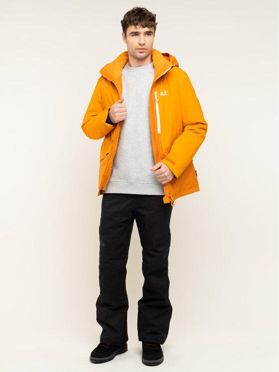 Jack Wolfskin Jack Wolfskin Giacca da sci Big White 1111741-3115 Arancione Regular Fit