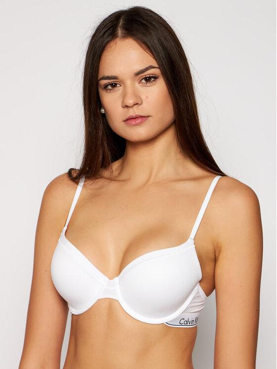 Calvin Klein Underwear Calvin Klein Underwear Melltartó alsó huzallal 0000F3784E Fehér