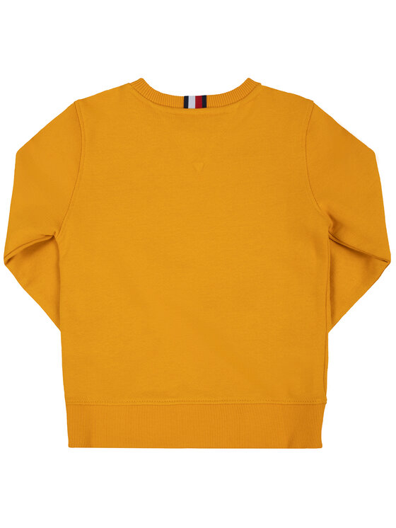 TOMMY HILFIGER TOMMY HILFIGER Felpa Essential KB0KB05474 M Giallo Regular Fit