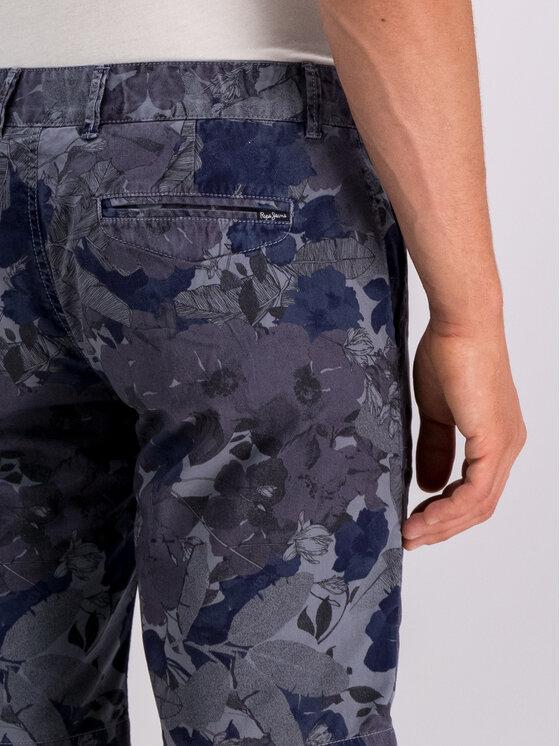 Pepe Jeans Pepe Jeans Шорти от плат PM800741 Сив Slim Fit