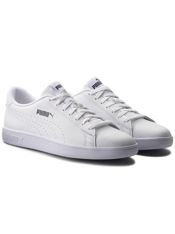 Puma Puma Sneakersy Smash V2 L Perf 365213 02 Bílá