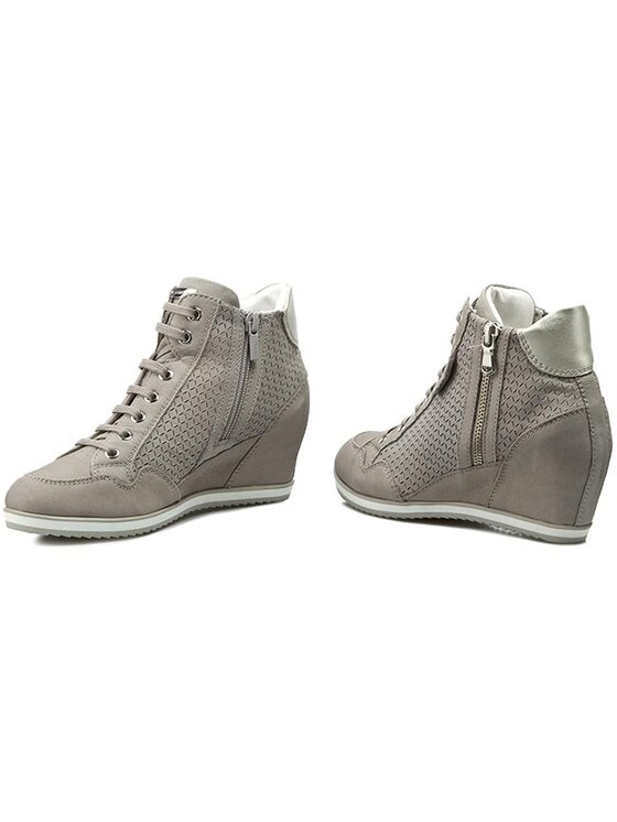 Geox Geox Sneakers D Illusion A D6254A 000LT C1010 Gri