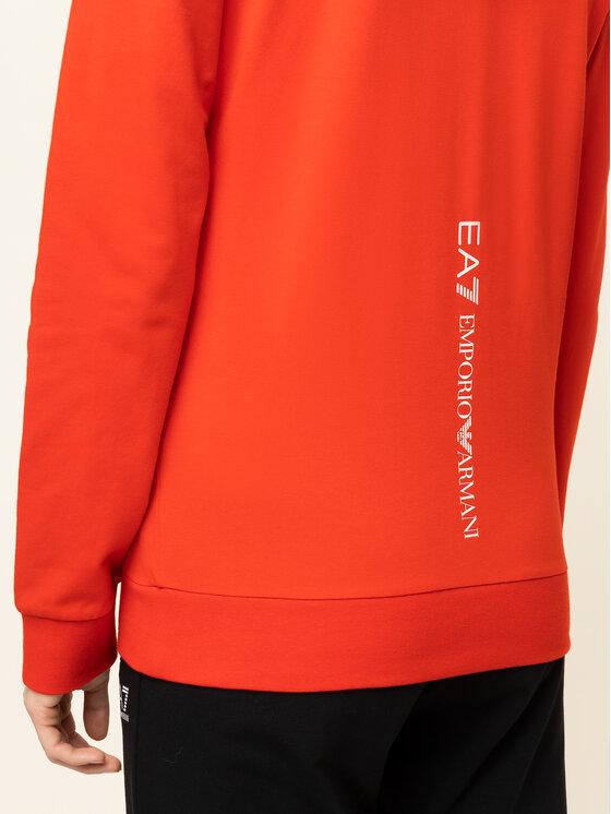 EA7 Emporio Armani EA7 Emporio Armani Džemperis 8NTM40 TJ31Z 1457 Raudona Regular Fit