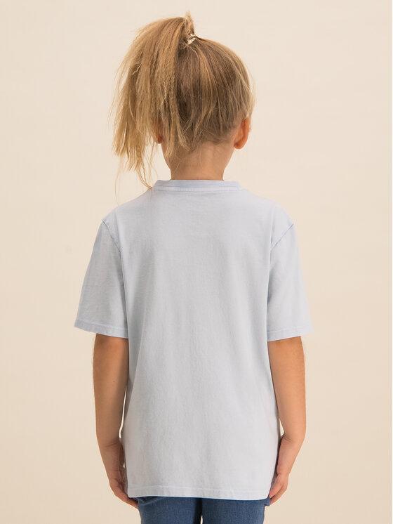 Guess Guess T-Shirt H01T03 K82E0 Niebieski Regular Fit