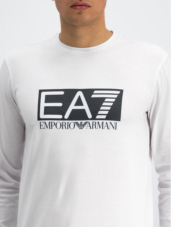 EA7 Emporio Armani EA7 Emporio Armani Longsleeve 3GPT64 PJ03Z 1100 Λευκό Regular Fit