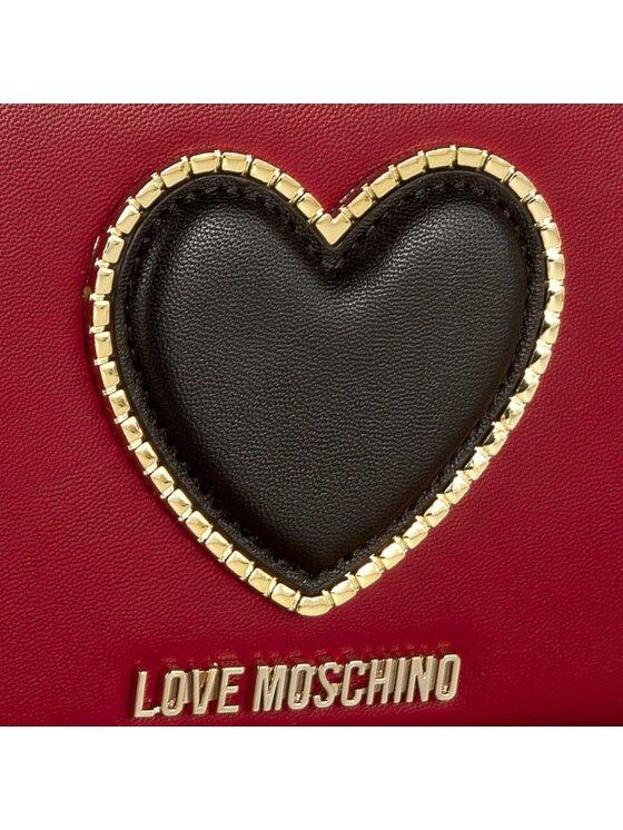 LOVE MOSCHINO LOVE MOSCHINO Duży Portfel Damski JC5539PP02KG0514 Czerwony