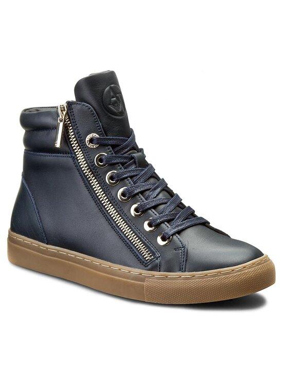 Armani Jeans Armani Jeans Sneakersy 925000 6A437 31735 Granatowy