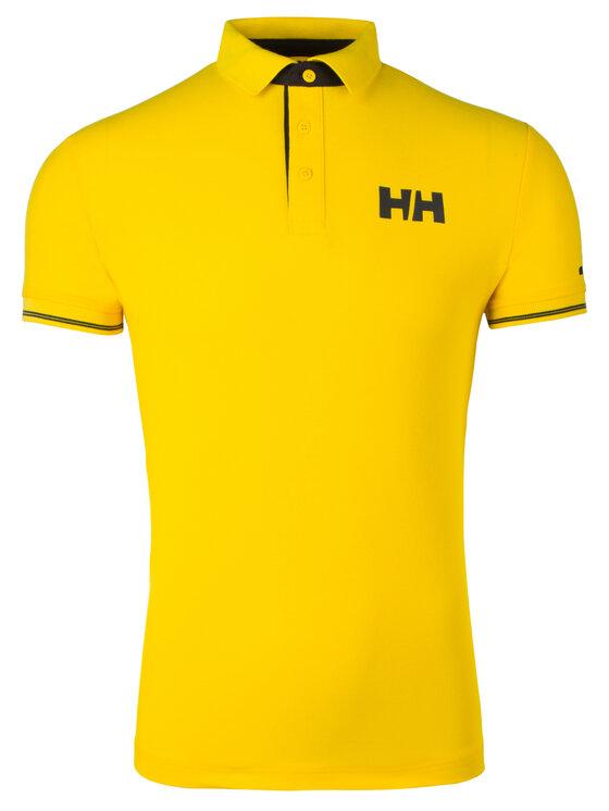 Helly Hansen Helly Hansen Тениска с яка и копчета Hp Shore 34051 Жълт Regular Fit