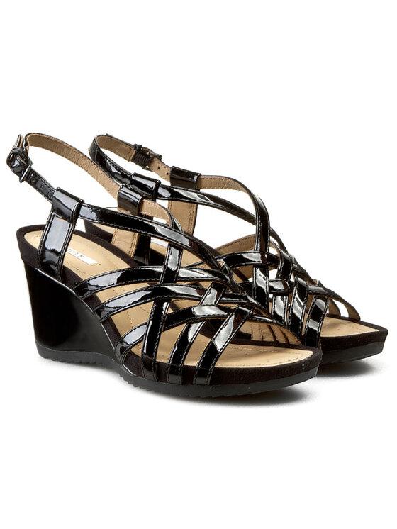 Geox Geox Sandále D New Rorie E D42P3E 000HH C9999 Čierna