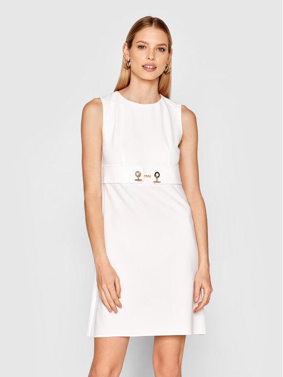Rinascimento Kasdieninė suknelė CFC0102458003 Balta Regular Fit