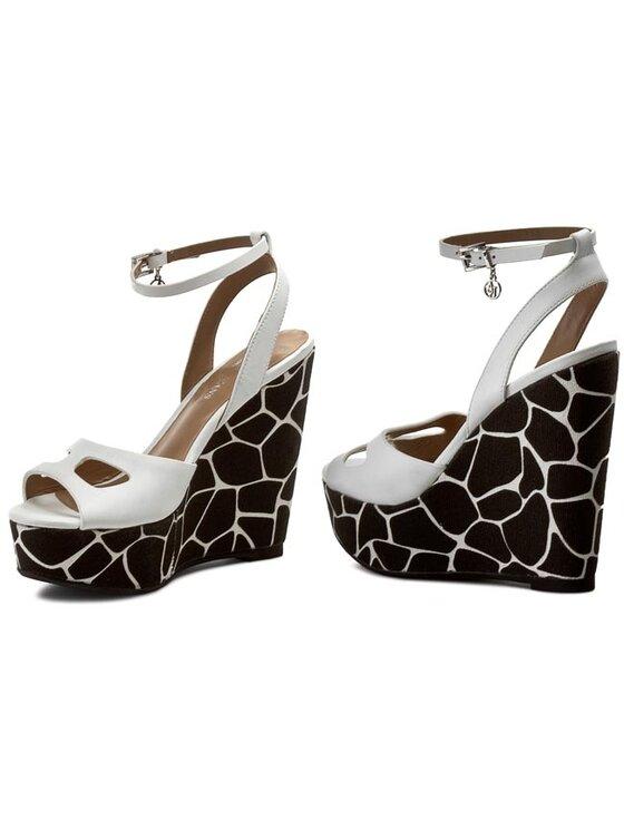 Armani Jeans Armani Jeans Sandále C5551 22 1C Biela