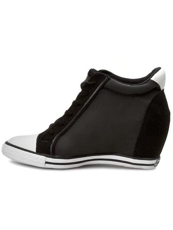 Calvin Klein Jeans Calvin Klein Jeans Sneakers aus Stoff Valencia RE9380 Schwarz