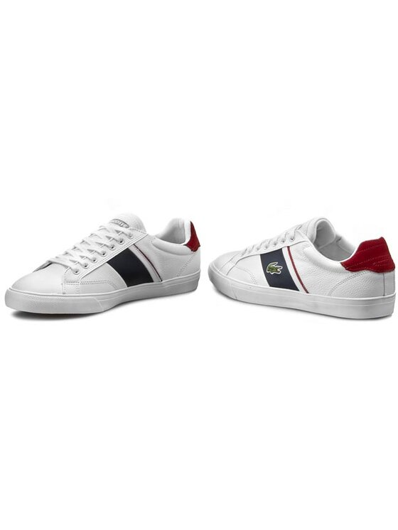 Lacoste Lacoste Sneakersy Fairlead Urs Spm 7-29SPM2018X96 Biela