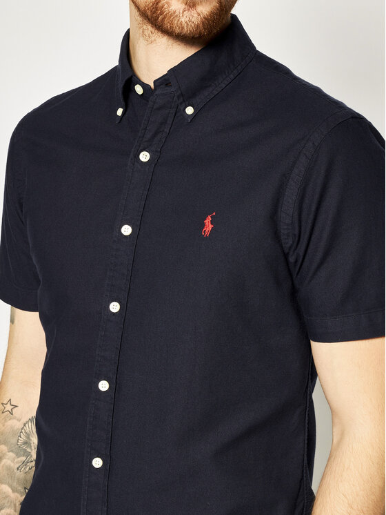 Polo Ralph Lauren Polo Ralph Lauren Риза Classics 710795382 Тъмносин Slim Fit