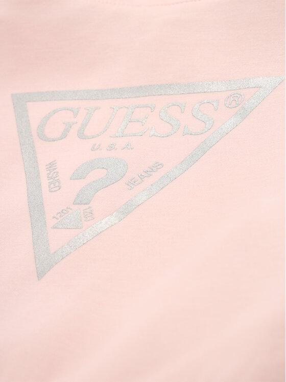 Guess Guess Džemperis K01Q00 K9LH0 Rožinė Regular Fit