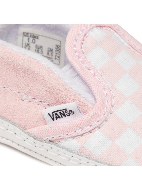 Vans Vans Tenisówki Slip-On V Crib VN0A2XSL04E1 Różowy