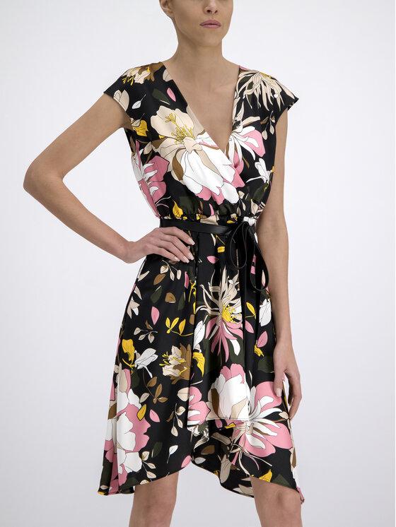 Liu Jo Liu Jo Φόρεμα καλοκαιρινό C19256 T2315 Μαύρο Regular Fit