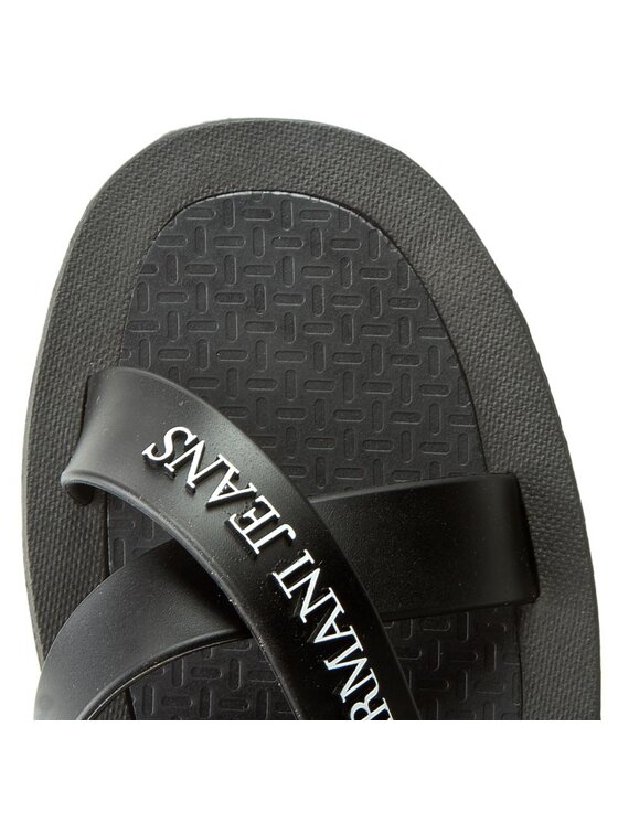 Armani Jeans Armani Jeans Mules / sandales de bain 935598 CC569 00020 Noir