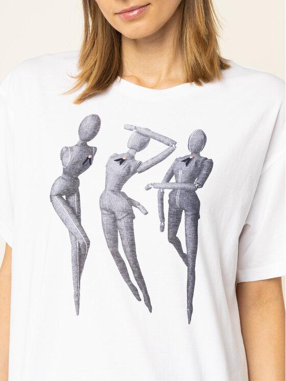 G-Star Raw G-Star Raw T-shirt D15249-336-110 Blanc Regular Fit