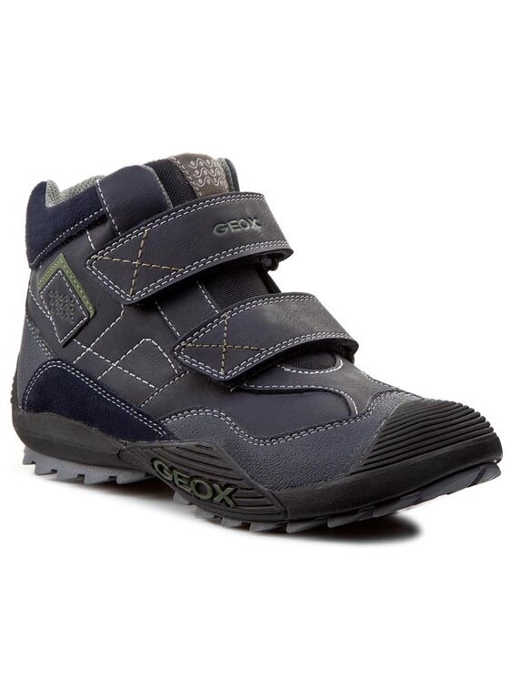 Geox Geox Šnurovacia obuv J Savage A J5424A 05422 C4002 Modrá