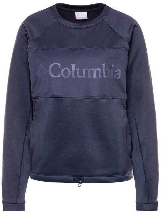 Columbia Columbia Mikina Windgates AL2371 Tmavomodrá Regular Fit