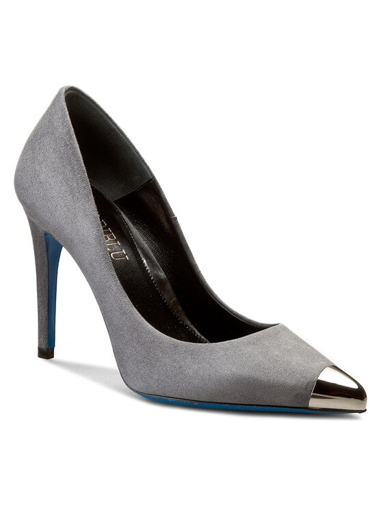 Loriblu Loriblu Pantofi cu toc subțire 7I A49441 AC Gri