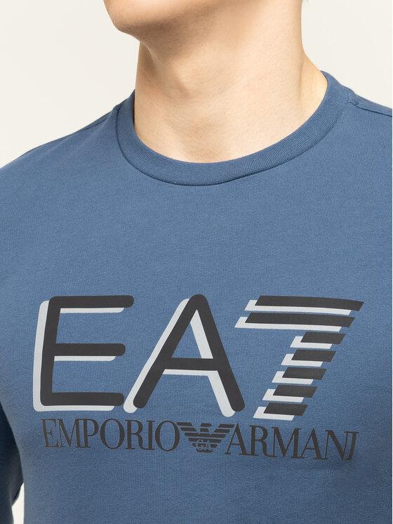 EA7 Emporio Armani EA7 Emporio Armani Pulóver 3HPM60 PJ05Z 1529 Sötétkék Regular Fit