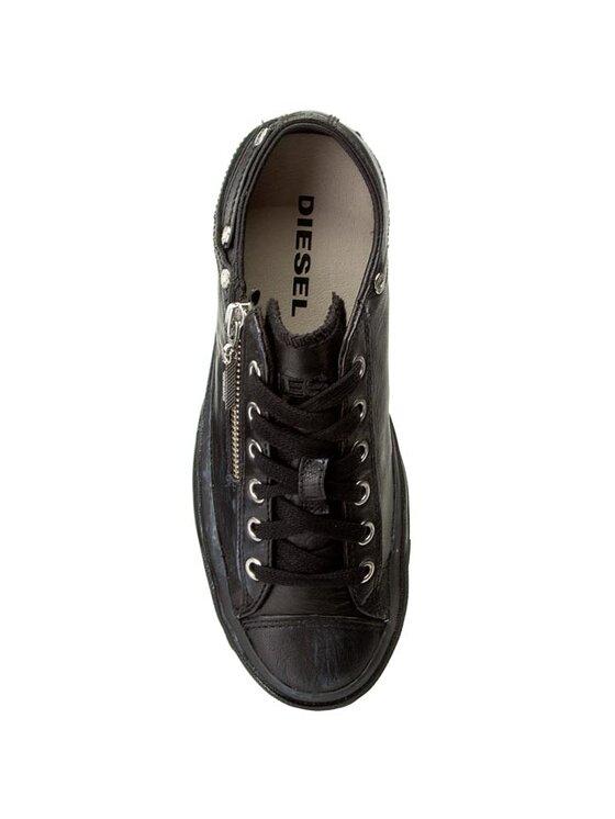 Diesel Diesel Πάνινα παπούτσια Expo Zip Low W Y01209 PR080 T8013 Μαύρο