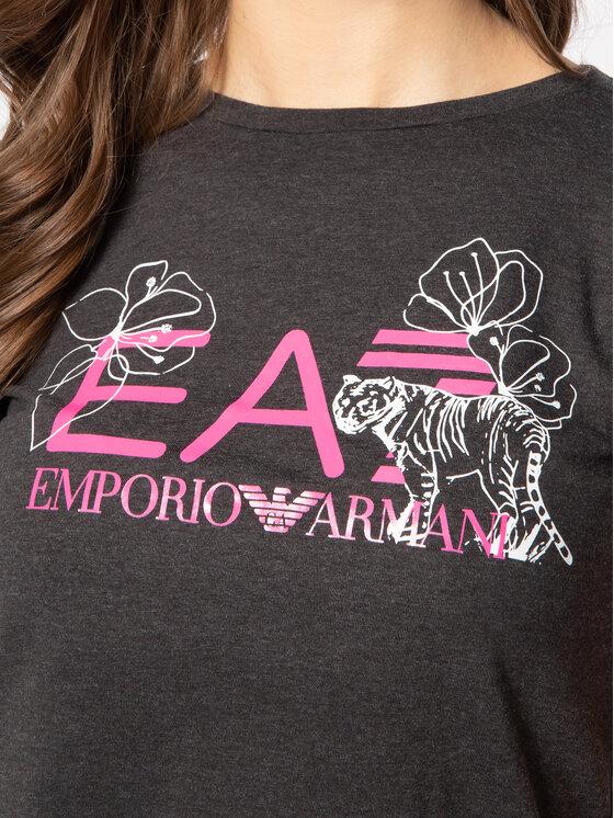 EA7 Emporio Armani EA7 Emporio Armani Тишърт 3HTT18 TJ12Z 3909 Сив Regular Fit