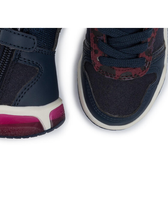 Geox Geox Sneakersy J Inek G.A J94ASA 0AU54 C4002 M Granatowy