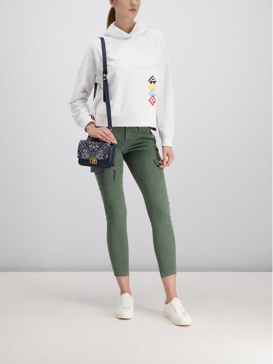 Pepe Jeans Pepe Jeans Spodnie materiałowe PL211208YD18 Zielony Skinny Fit
