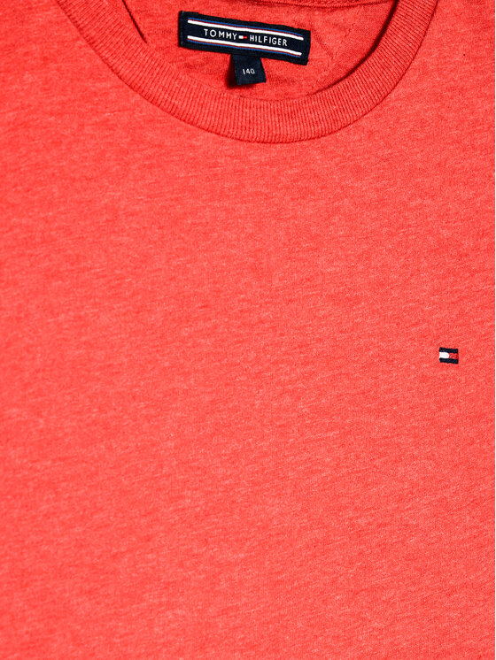 TOMMY HILFIGER TOMMY HILFIGER T-Shirt KB0KB04140 Κόκκινο Regular Fit