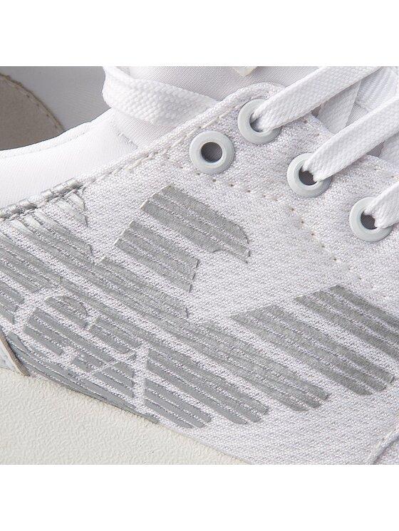 EA7 Emporio Armani EA7 Emporio Armani Laisvalaikio batai X8X007 XCC02 00001 Balta