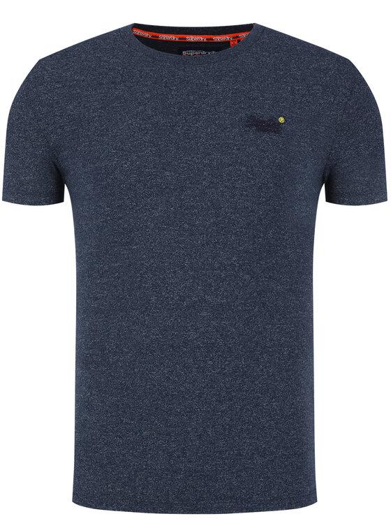 Superdry Superdry Marškinėliai OL Vintage M1010024A Tamsiai mėlyna Regular Fit