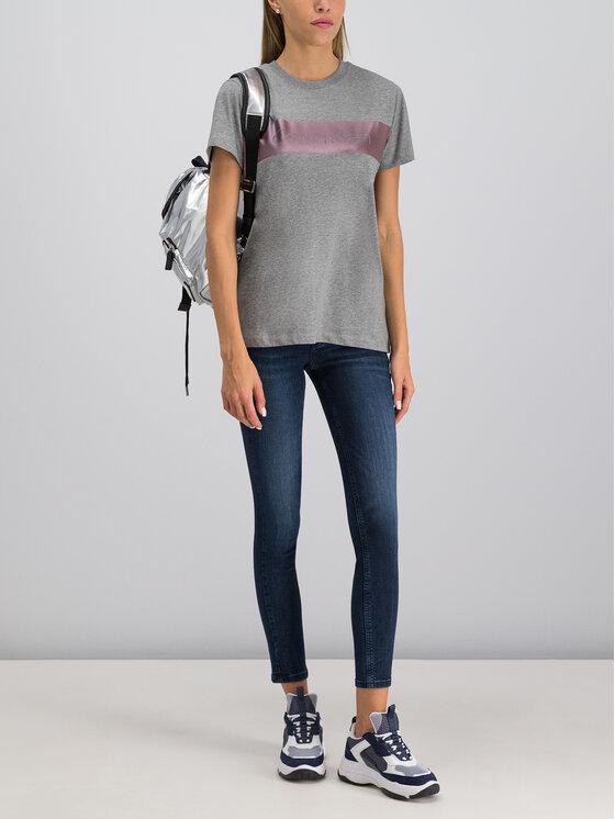 Calvin Klein Calvin Klein Tricou K20K201509 Gri Regular Fit