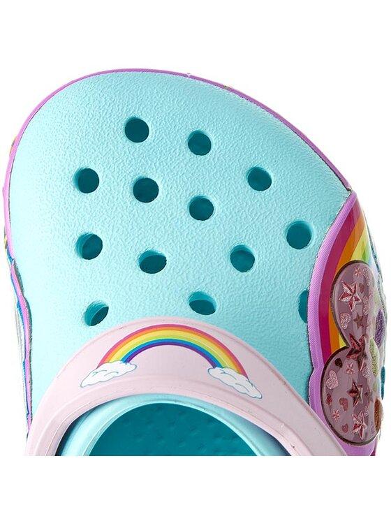 Crocs Crocs Παντόφλες Crocslights Rainbow Hrt Clog K 202662 Μπλε