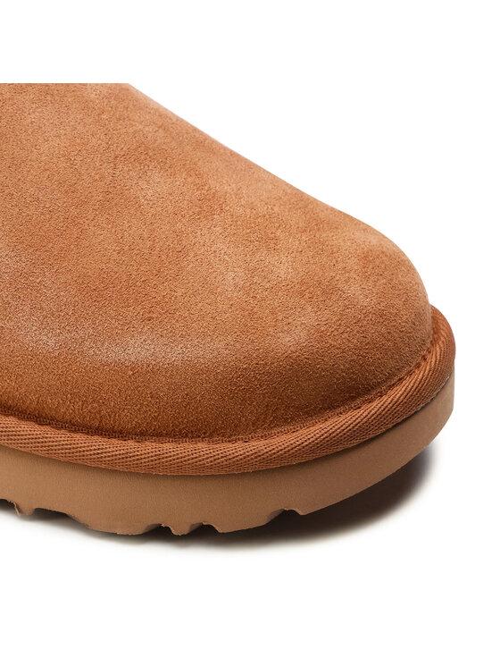 Ugg Ugg Pantofi W Classic Mini Bow 1116099 Maro