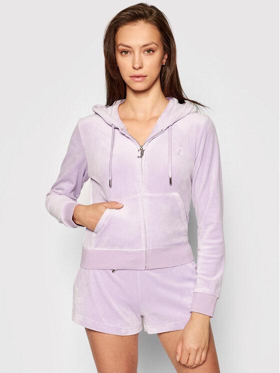Juicy Couture Džemperis Robertson JCAP176 Violetinė Slim Fit