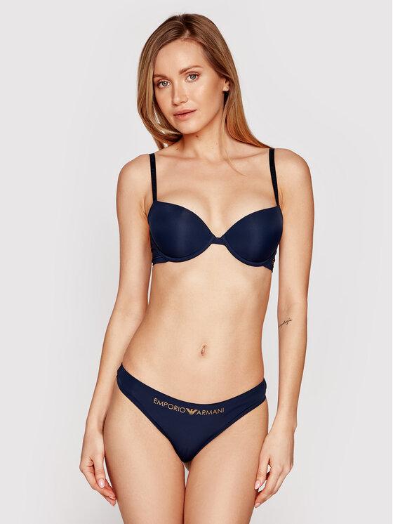 Emporio Armani Underwear Emporio Armani Underwear Biustonosz push-up 164394 1P284 00135 Granatowy