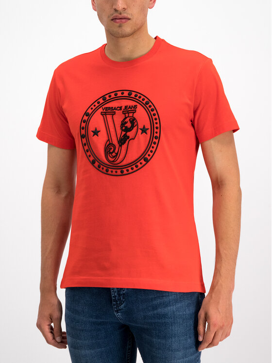 Versace Jeans Versace Jeans T-Shirt B3GTB72E Κόκκινο Slim Fit