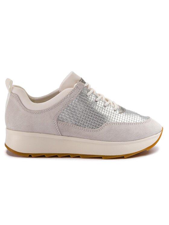 Geox Geox Sneakersy D Gendry B D925TB 022QU C0626 Srebrny