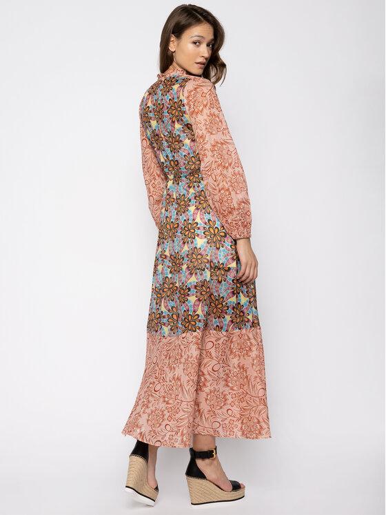Pinko Pinko Ежедневна рокля Cartoccio 20201 BLK01 1G14VB 7935 Цветен Regular Fit