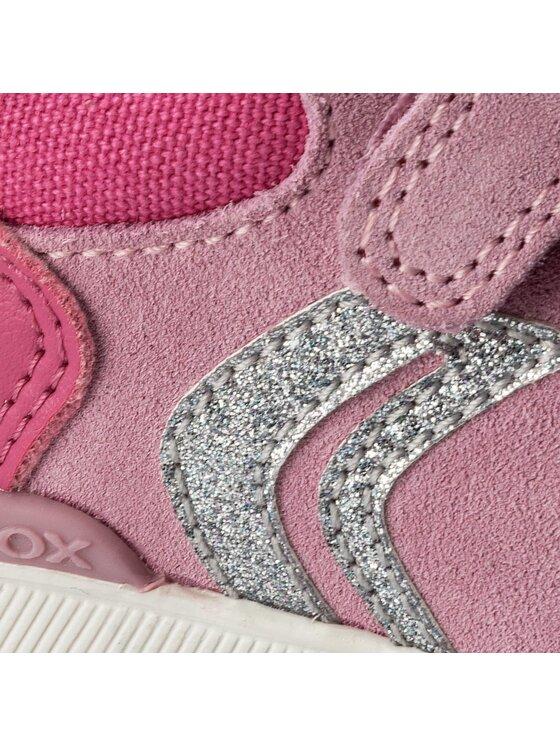 Geox Geox Sneakersy B Rishon G. B B640LB 08522 C0799 M Růžová